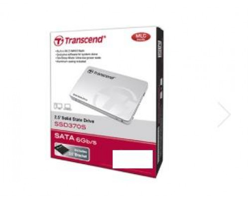 Твердотельный диск 128GB Transcend, 370S, SATA III [R/W - 470/570 MB/s]